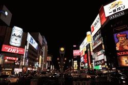 北海道 日本三大歓楽街のすすきの